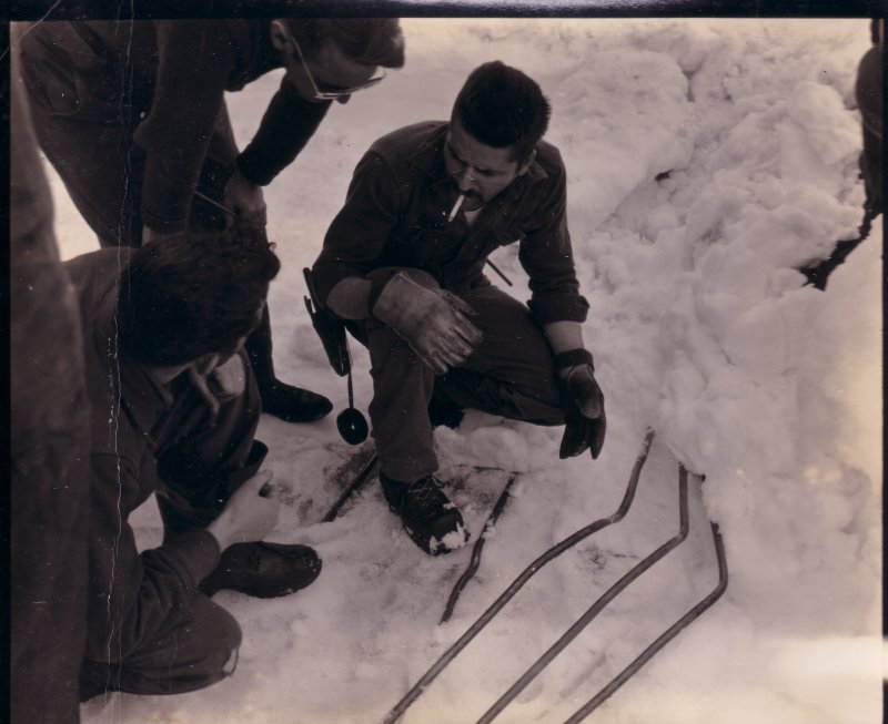 Wilkes 1957 First Winter Over