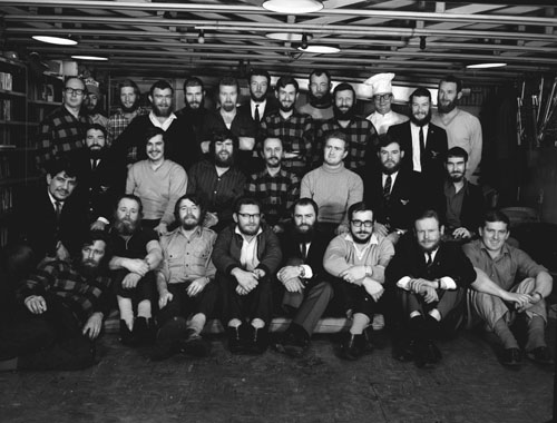 Wilkes 1968 Group Photo